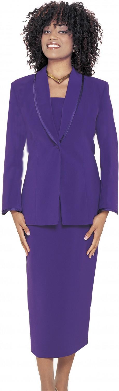 Women Usher Uniforms PURPLE G12272 | Usher Suits, Skirt ...