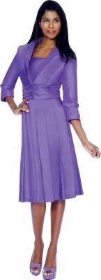 Modest Dresses for Church-DN5102 - PURPLE