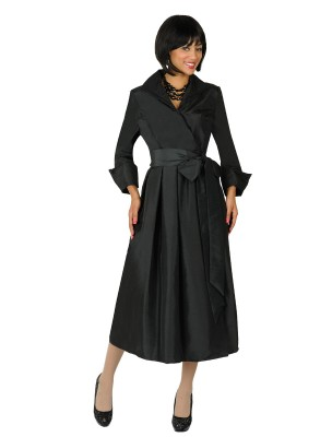 Modest Dresses for Church-DN5371 - BLACK
