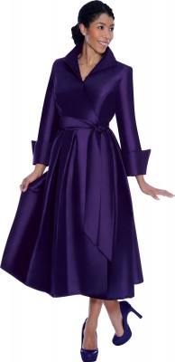 Modest Dresses for Church-DN5371 - PURPLE