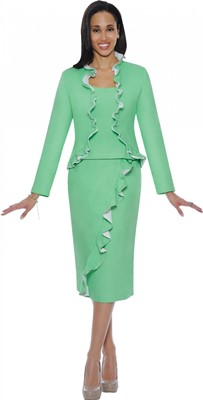 Casual Church Suits-DS50143 - GREEN