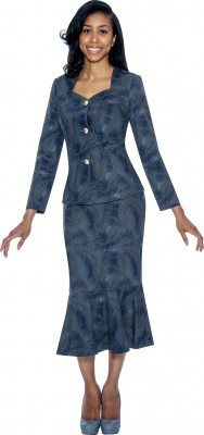 Church Denim Suits-DS50652 - NAVY