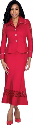 Church Suits-DS50672 - RED