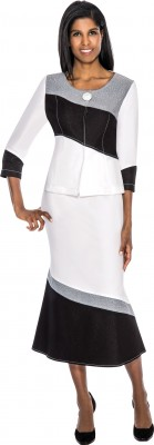 DS50992 - WHITE / BLACK / SILVER</h3>