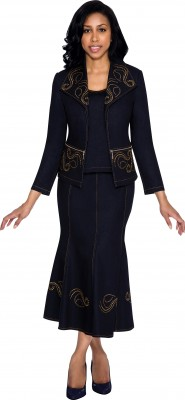 Church Denim Suits-DS51023 - NAVY