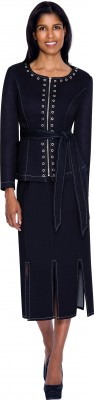 Usher Uniforms-DS51162 - NAVY
