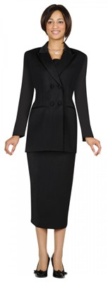 Usher Uniforms-G12269 - BLACK