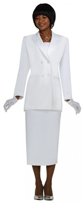 Usher Uniforms-G12269 - WHITE