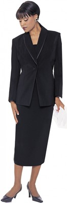 Usher Uniforms-G12272 - BLACK
