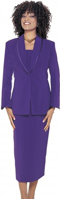 Usher Uniforms-G12272 - PURPLE