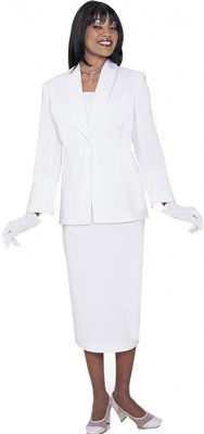 Usher Uniforms-G12272 - WHITE