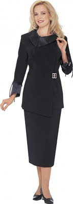Usher Uniforms-G12572 - BLACK
