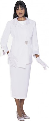 Usher Uniforms-G12572 - WHITE