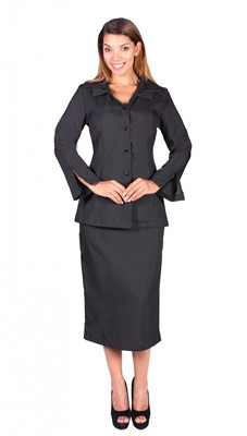 Usher Uniforms-G12777 - BLACK