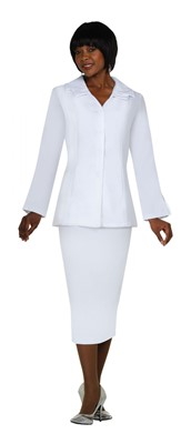 Usher Uniforms-G12777 - WHITE