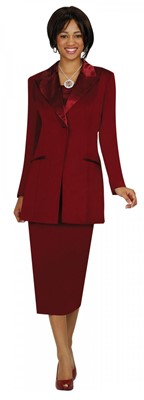 Usher Uniforms-G13271 - Burgundy