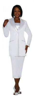 Usher Uniforms-G13271 - WHITE
