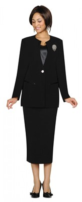 Usher Uniforms-G13273 - BLACK