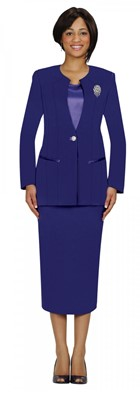 Usher Uniforms-G13273 - PURPLE