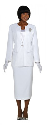 Usher Uniforms-G13273 - WHITE