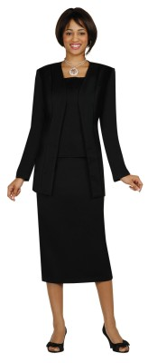 Usher Uniforms-G13270 - BLACK