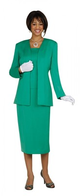 Usher Uniforms-G13270 - EMERALD