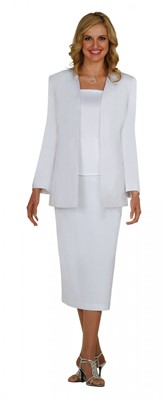 Usher Uniforms-G13270 - WHITE