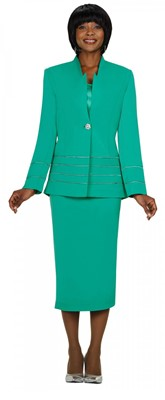 Usher Uniforms-G23108 - EMERALD
