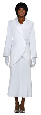 Usher Uniforms-G2876 - WHITE