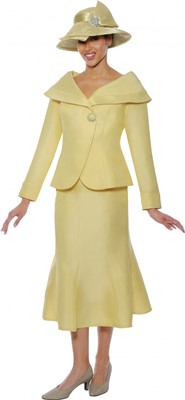 Church Suits-G4712 - Banana Yellow