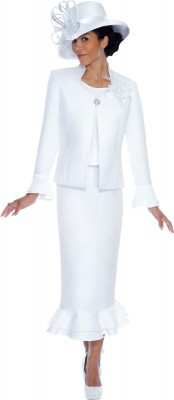 Church Suits-G4773 - WHITE