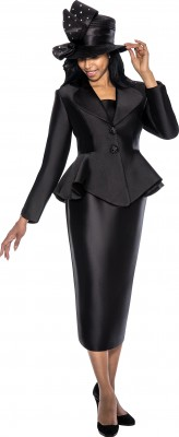 Church Suits-G5753 - BLACK