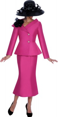 Church Suits-G5982 - MAGENTA