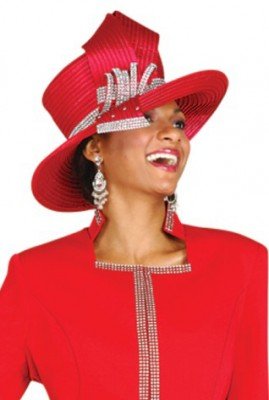 Church Hats -H110H - RED