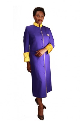 Choir Robes-RR9001 - PURPLE/GOLD