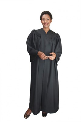 Choir Robes-RR9081 - BLACK
