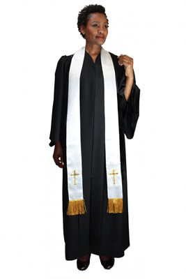 Choir Robes-RR9100 - WHITE